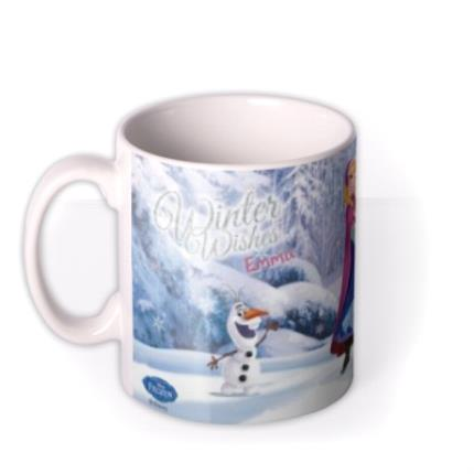 Mugs - Disney Frozen Winter Photo Upload Mug - Image 1