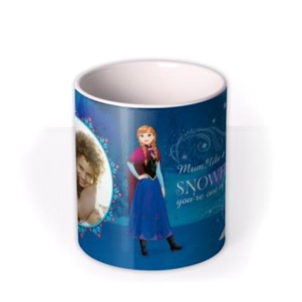 Mugs - Disney Frozen Snowflake Photo Upload Mug - Image 3