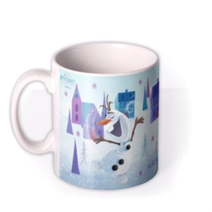 Mugs - Disney Frozen I Love Warm Hugs Cute Photo Mug - Image 1