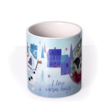 Mugs - Disney Frozen I Love Warm Hugs Cute Photo Mug - Image 3