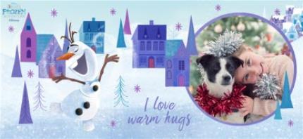 Mugs - Disney Frozen I Love Warm Hugs Cute Photo Mug - Image 4