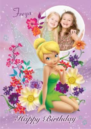 Disney Peter Pan Tinkerbell Personalised Birthday Card