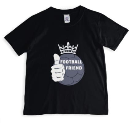 T-Shirts - Football Friend Crown T-shirt - Image 1