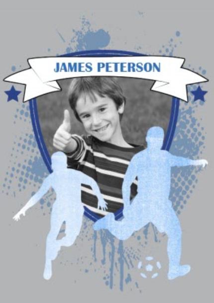 T-Shirts - Football Top Player Photo Upload T-shirt - Image 4