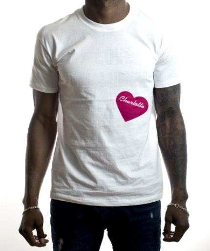 T-Shirts - I Love My Wifey Block Text Personalised T-Shirt - Image 2