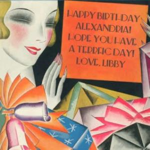 Greeting Cards -  Hope you have a terrific day! - Retro Birthday Card  - Image 1