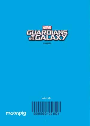 Greeting Cards - Marvel Guardians Of The Galaxy Groot Personalised Christmas Card - Image 4