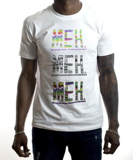 T-Shirts - Meh Meh Meh Neon Kids T-Shirt - Image 2