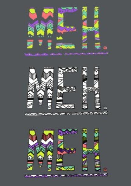 T-Shirts - Meh Meh Meh Neon Kids T-Shirt - Image 4
