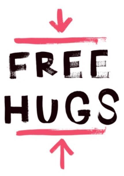 T-Shirts - Free Hugs Red Personalised T-shirt - Image 4