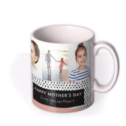 Mugs - Mother's Day Card -  Multi photo upload Mug - Image 2