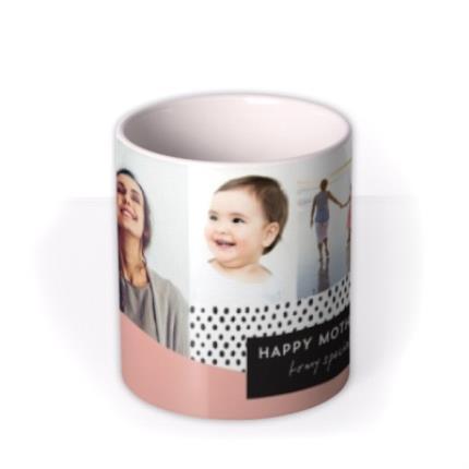 Mugs - Mother's Day Card -  Multi photo upload Mug - Image 3