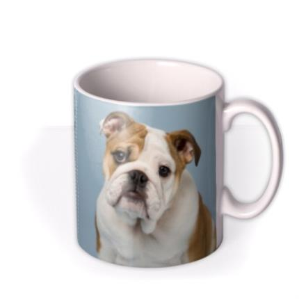 Mugs - Blue Jean Personalised Text Photo Upload Mug - Image 2