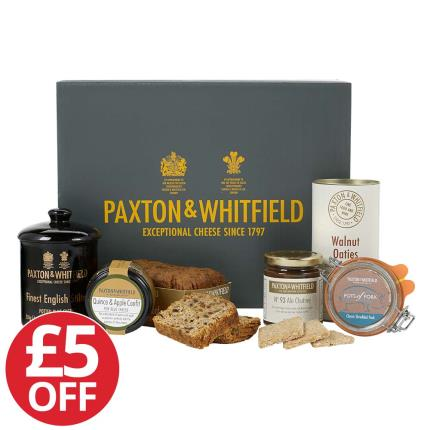 Food Gifts - Paxton & Whitfield Luxury Hamper - NEW & £5 OFF! - Image 1