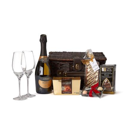Food Gifts - Prosecco & Chocolates Hamper - Image 1