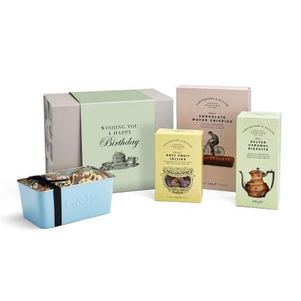 Food Gifts - Cartwright & Butler Happy Birthday Gift Box - Image 2