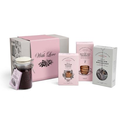Food Gifts - Cartwright & Butler 'With Love' Gift Box - Image 7