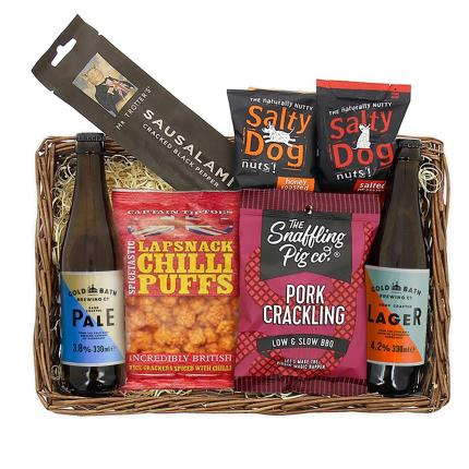 Food Gifts - Beer & Snacks Tray - Image 1