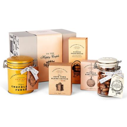 Food Gifts - Cartwright & Butler To The Happy Couple Gift Box - Image 1