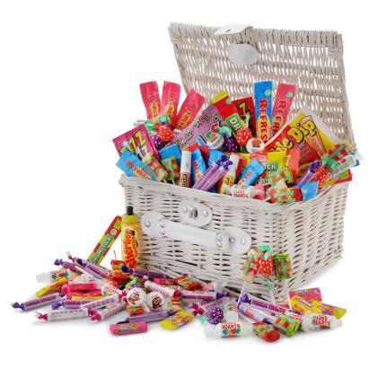 Food Gifts - Retro Sweets Hamper - Image 1