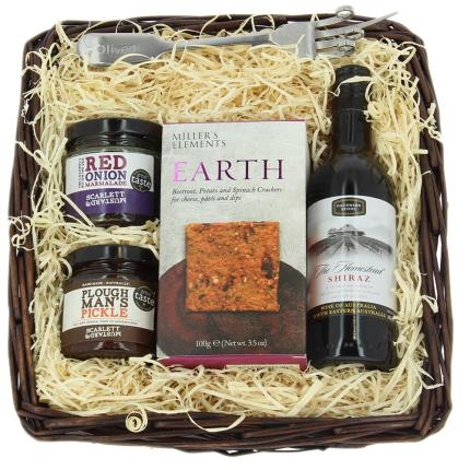 Food Gifts - Cheese Lovers Hamper Tray - Image 1