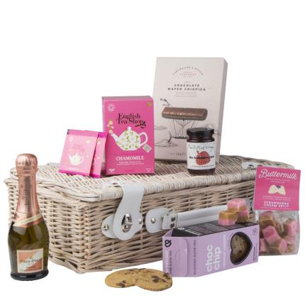 Food Gifts - Afternoon Tea & Fizz Hamper - Image 1