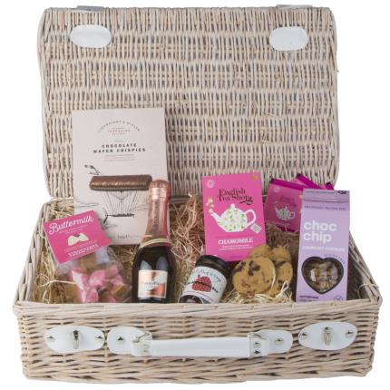 Food Gifts - Afternoon Tea & Fizz Hamper - Image 2