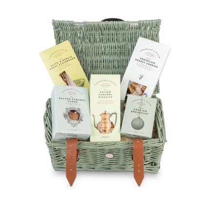 Food Gifts - Cartwright & Butler Wicker Hamper - Image 1