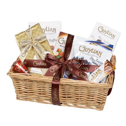 Food Gifts - Guylian Christmas Chocolate Hamper - Image 1