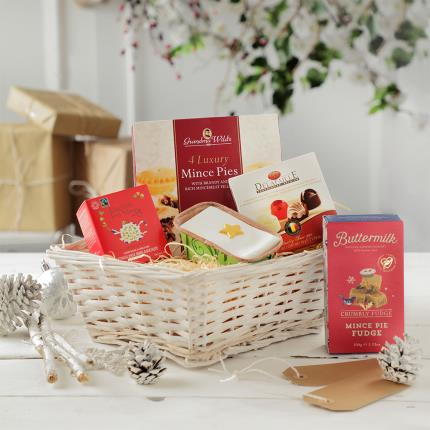 Food Gifts - Christmas Treats Tray - Image 1