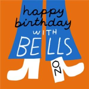 Greeting Cards - Birthday card - with bells on - Image 1
