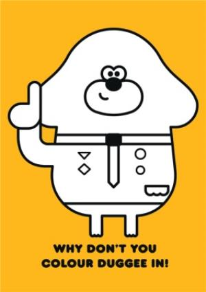 Greeting Cards - Hey Duggee Kids 3 today Birthday card - Image 2