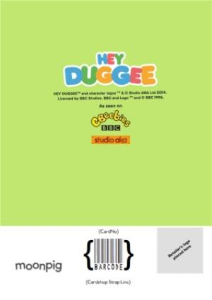 Greeting Cards - Hey Duggee Kids 4 today Birthday card - Image 4