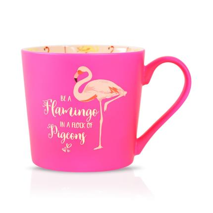 Gadgets & Novelties - Girl Talk Gift - Be A Flamingo In A Flock Of Pigeons - Image 1