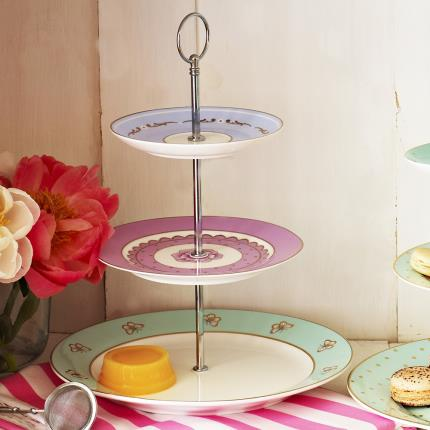 Gadgets & Novelties - Hotch Poch Vintage Cake Stand - Image 2