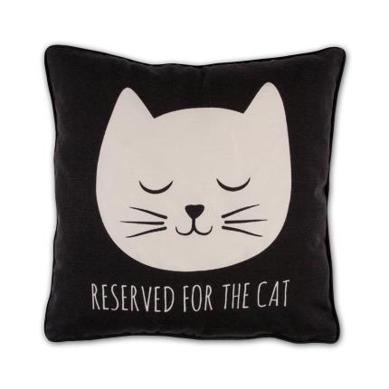 Gadgets & Novelties - Reserved For The Cat Cushion - Image 1