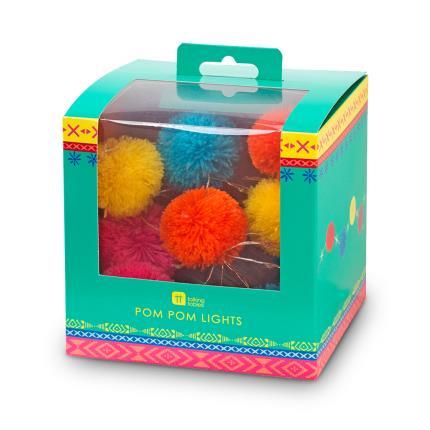 Gadgets & Novelties - Pom Pom String Lights - Image 3