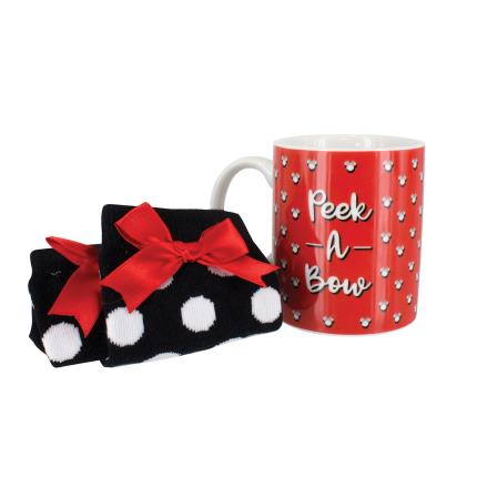 Gadgets & Novelties - Disney Minnie Mouse Mug & Socks - Image 1