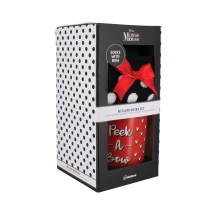 Gadgets & Novelties - Disney Minnie Mouse Mug & Socks - Image 2