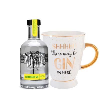 Gadgets & Novelties - Two Birds Gin & Teacup Gift Set - Image 1
