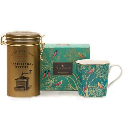 Gadgets & Novelties - Sara Miller Mug & Coffee Gift Set - Image 1