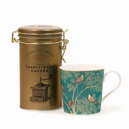 Gadgets & Novelties - Sara Miller Mug & Coffee Gift Set - Image 2