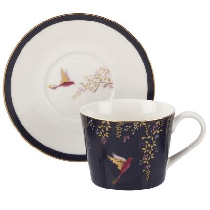 Gadgets & Novelties - Sara Miller Cup, Saucer & Tea Gift Set - Image 2