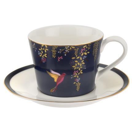 Gadgets & Novelties - Sara Miller Cup, Saucer & Tea Gift Set - Image 3
