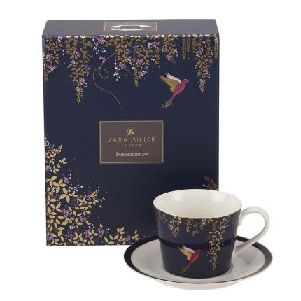 Gadgets & Novelties - Sara Miller Cup, Saucer & Tea Gift Set - Image 4
