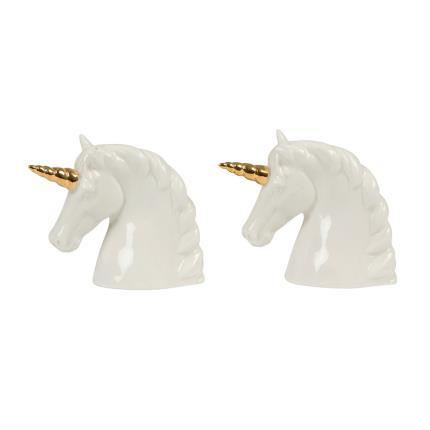Gadgets & Novelties - Unicorn Salt & Pepper Shaker Set - Image 1