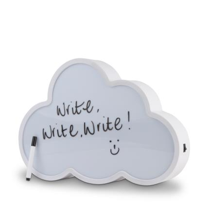 Gadgets & Novelties - Write On Light Up Cloud - Image 1