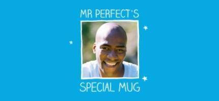 Mugs - Mr Perfect Photo Upload Mug - Image 4