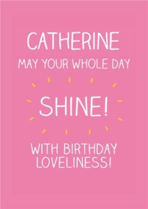 Greeting Cards - Birthday Card Message - Image 1