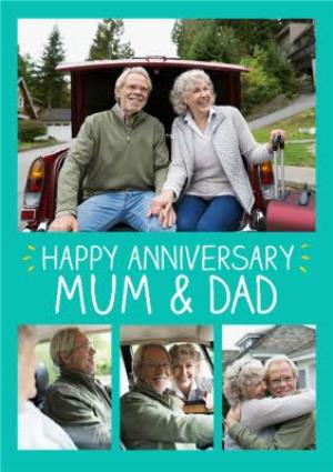 Greeting Cards - Anniversary Card For Mam & Dad - Image 1